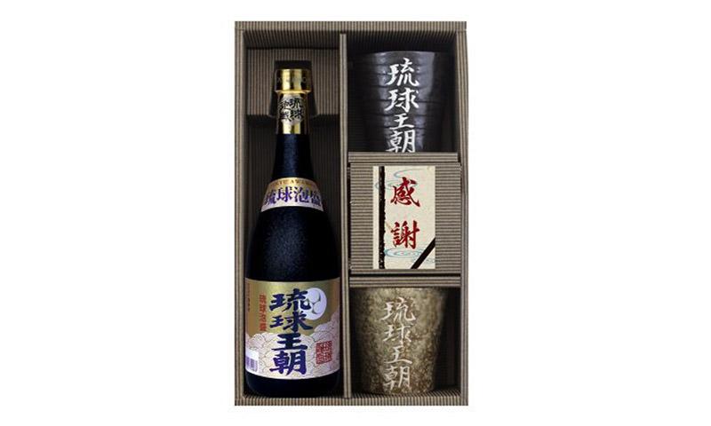 株式会社多良川賞 琉球泡盛 琉球王朝陶器セット 1名様